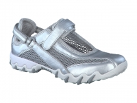 Chaussure all rounder  modele niro metallic argent