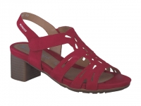 Chaussure mephisto sandales modele blanca rouge