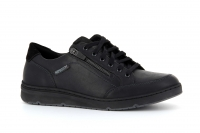Chaussure mephisto Boucle modele jeremy cuir lisse noir