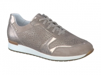 chaussure mephisto lacets nadine bi-mat gris