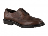 Chaussure mephisto lacets modele tyron cuir brun moyen