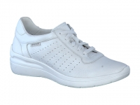 Chaussure mephisto sandales modele chris perf blanc