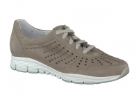 Chaussure mephisto Marche modele yliane nubuck gris clair