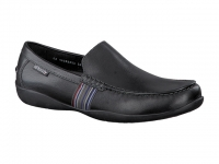Chaussure mephisto mules modele idris cuir noir