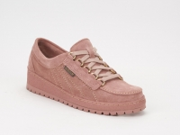 chaussure mephisto lacets lady nubuck vieux rose