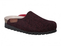 Chaussure mobils lacets modele thea taupe bordeaux