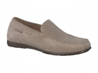 Chaussure mephisto lacets modele algoras nubuck taupe