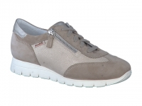 Chaussure mobils mocassins modele donia beige