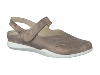 Chaussure mephisto Passe orteil modele caterine taupe foncé