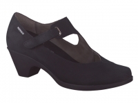 Chaussure mephisto Passe orteil modele madelyn nubuck noir