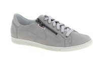 Chaussure mobils Boucle modele hawai nubuck gris