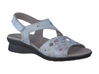 Chaussure mephisto Compensée modele phiby perf gris
