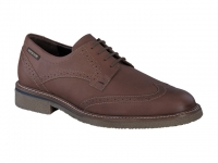 lacets homme modèle geffray cuir brun moyen - Mephisto