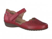 chaussure mobils Ballerines florina perf rouge