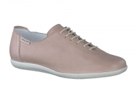 Chaussure mephisto sandales modele katie cuir taupe clair