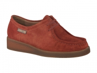 chaussure mephisto lacets christy nubuck brique
