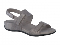 Chaussure mephisto sandales modele jemila taupe foncé