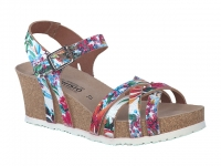 Chaussure mephisto  modele lanny motifs multicouleurs