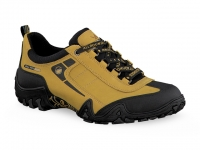 Chaussure all rounder lacets modele fina-tex jaune