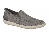 Chaussure mephisto mocassins modele ulrich gris clair
