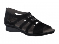 Chaussure mephisto sandales modele padge noir