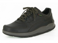 Chaussure sano lacets modele oryx brun lisse