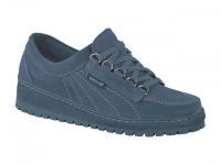 chaussure mephisto lacets lady bleu jean