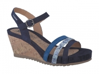 Chaussure mephisto Compensée modele giny bleu