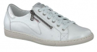 Chaussure mobils Boucle modele hawai cuir blanc