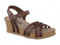 Chaussure mephisto sandales modele lanny chataigne