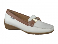 Chaussure mephisto sandales modele norma blanc