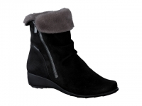 Chaussure mephisto bottines modele seddy winter noir