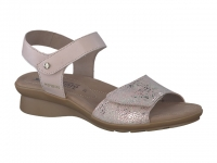 Chaussure mephisto sandales modele pattie bi-mat taupe clair