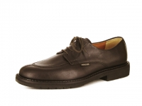 Chaussure mephisto mules modele mike cuir brun foncé