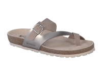 Chaussure mephisto sandales modele nalia taupe clair