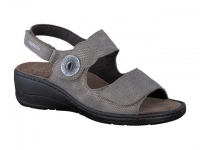 Chaussure mobils lacets modele jissy taupe