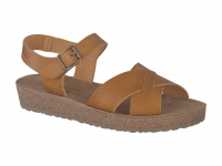 Chaussure mephisto sandales modele candie brun