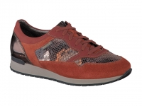 Chaussure mephisto sandales modele ninia corail