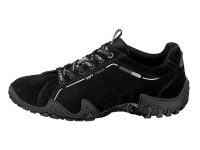 chaussure all rounder lacets funny trend nubuck noir