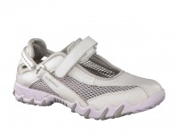 Chaussure all rounder lacets modele niro blanc
