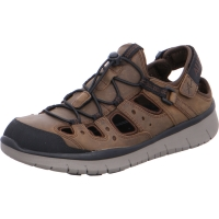 Chaussure all rounder outdoor modele maroon brun