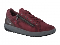 Chaussure all rounder lacets modele madrigal rouge carmin