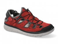chaussure all rounder outdoor maroon rouge