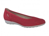 Chaussure mephisto Compensée modele elsie perf rouge