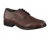 Chaussure mephisto lacets modele cooper cuir brun moyen