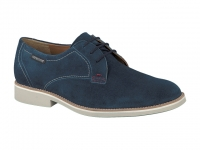 Chaussure mephisto lacets modele orlando bleu