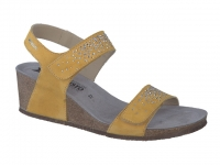 Chaussure mephisto Compensée modele maria spark nubuck ocre