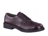 Chaussure mephisto mules modele matthew cuir lisse bordeaux