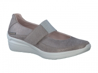 Chaussure mephisto sandales modele coleta taupe foncé