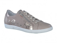 Chaussure mobils mocassins modele hawai shiny taupe clair